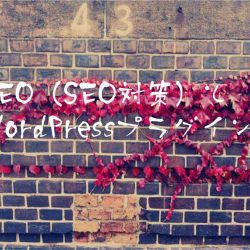 SEO(SEO対策)とWordPressプラグイン
